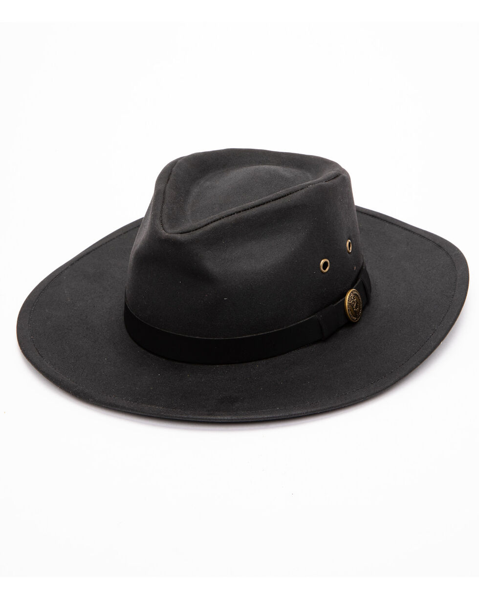 Outback Unisex Kodiak Hat, Black, hi-res
