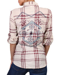 Shyanne Women's Embroidered Long Sleeve Western Shirt, , hi-res