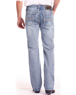 Rock & Roll Cowboy Men's Double Barrel Reflex Relaxed Fit Jeans , Blue, hi-res