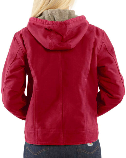 Carhartt Women's Raspberry Sandstone Sierra Jacket , Red, hi-res