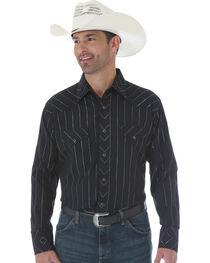 Wrangler Men's Silver Edition Long Sleeve Shirt, , hi-res