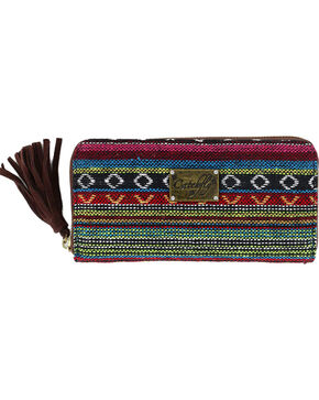 Catchfly Women's Daphne Wallet, Brown, hi-res