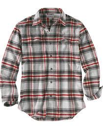 Carhartt Men's Hubbard Plaid Flannel Shirt , , hi-res