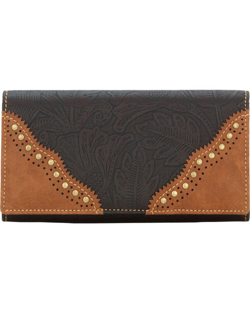 Bandana Women's Castle Rock Flap Wallet, , hi-res