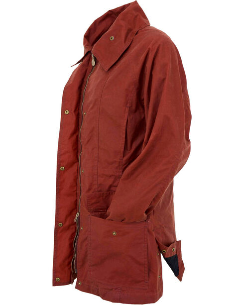Outback Trading Co Women's Rust Copper Belfast Jacket , Rust Copper, hi-res