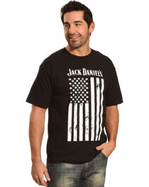 Jack Daniel's Men's Distressed Flag Tee, , hi-res