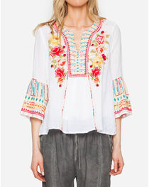Johnny Was Women's Tilly Flare Sleeve Boho Blouse, , hi-res