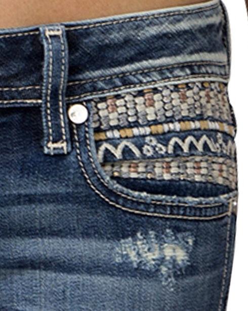 Miss Me Women's Indigo Signature Rise Jeans - Ankle Skinny, Indigo, hi-res