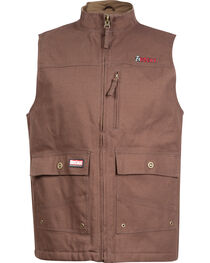 Rocky WorkSmart Men's Canvas Vest, , hi-res