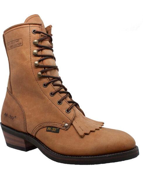 """Ad Tec Men's Packer 9""""Work Boots, Tan, hi-res"""