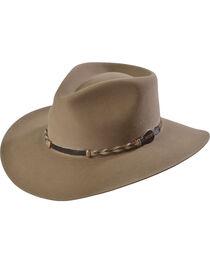 Stetson Drifter 4X Buffalo Fur Felt Hat, Stone, hi-res