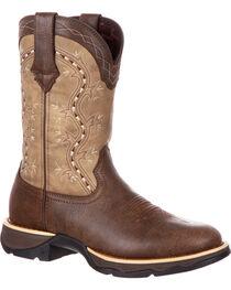 Lady Rebel by Durango Women's Slip Resistant Lightweight Western Work Boots, , hi-res