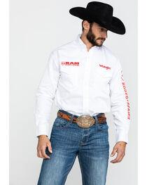 Wrangler Men's Long Sleeve RAM Rodeo Series Western Shirt, , hi-res