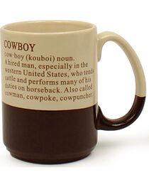 M&F Western Cowboy Mug, , hi-res