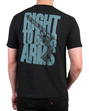 "Cody James®  ""Right to Bear Arms"" T-Shirt, Black, hi-res"