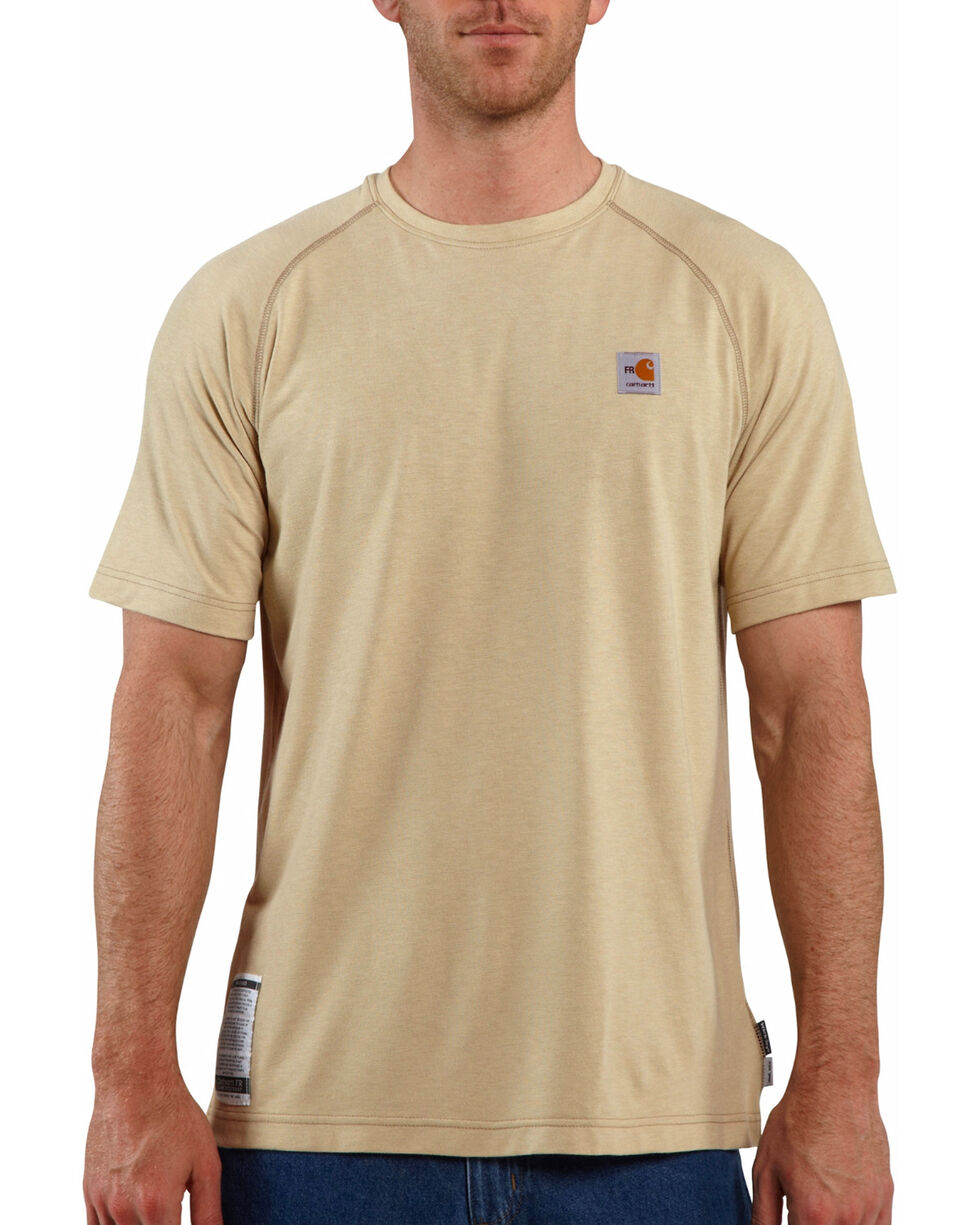 Carhartt Force Men's FR Short Sleeve T-Shirt | Tuggl