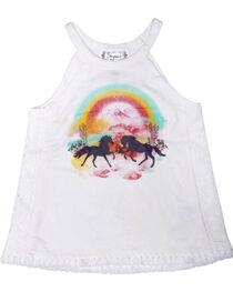 Shyanne® Toddler Girls' Rainbow Horse Tank Top , , hi-res