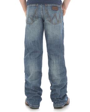 Wrangler Boys' Retro Boot Cut Jeans (4-7), Blue, hi-res