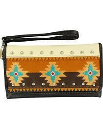Blazin Roxx Southwest Embroidered Wallet, , hi-res
