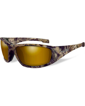 Wiley X Boss Kryptek Highlander Polarized Sunglasses , Camouflage, hi-res