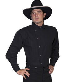 Rangewear by Scully Men's Osnaburg Button Front Shirt, , hi-res