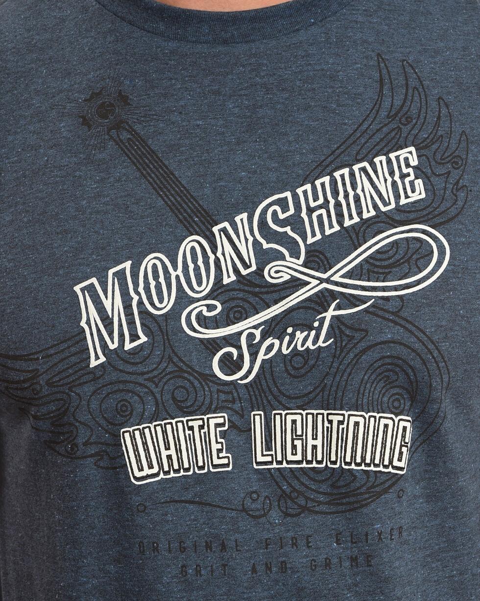 Moonshine Spirit Men's Guitar Spirit Tee, Navy, hi-res