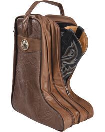 BB Ranch Brown Boot Bag, , hi-res