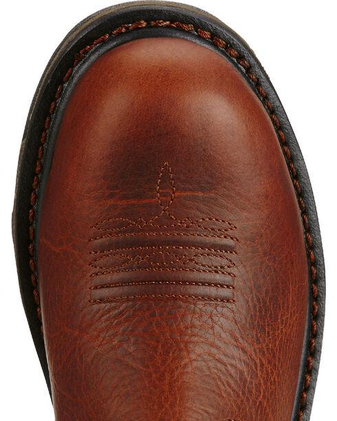 Ariat Women's Brown Workhog Western Work Boots, Brown, hi-res