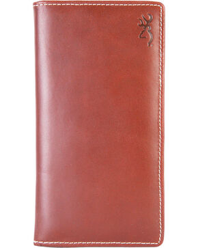 Browning Men's Tri-Fold Executive Wallet , Brown, hi-res