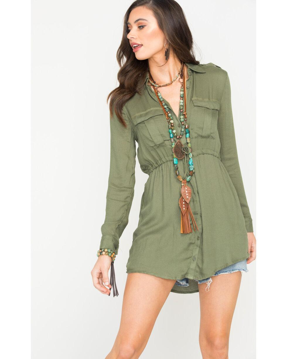 Jack Women's Olive Casey Dress , Olive, hi-res