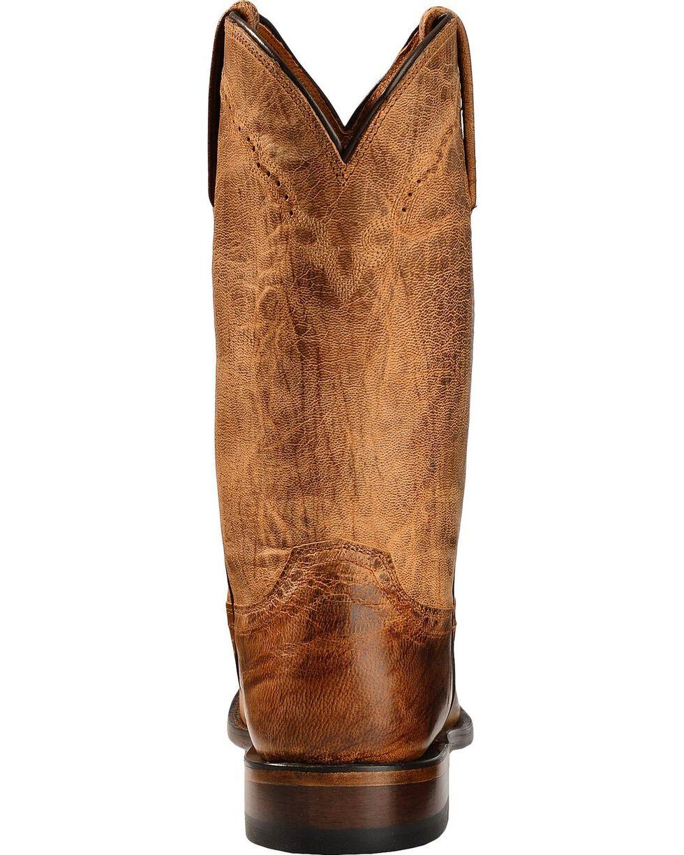 Lucchese Handmade 1883 Mad Dog Goatskin Roper Cowboy Boots - Round Toe, Tan, hi-res