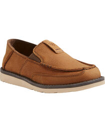 Ariat Boys' Slip On Cruiser Shoes - Moc Toe, , hi-res