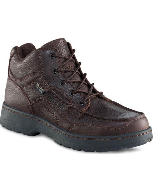 Red Wing Irish Setter Men's Countrysider Chukka Boots - Moc Toe , Brown, hi-res