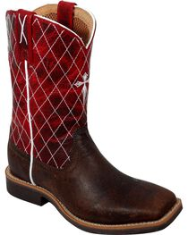 Twisted X Youth Cowkid Western Boots, , hi-res