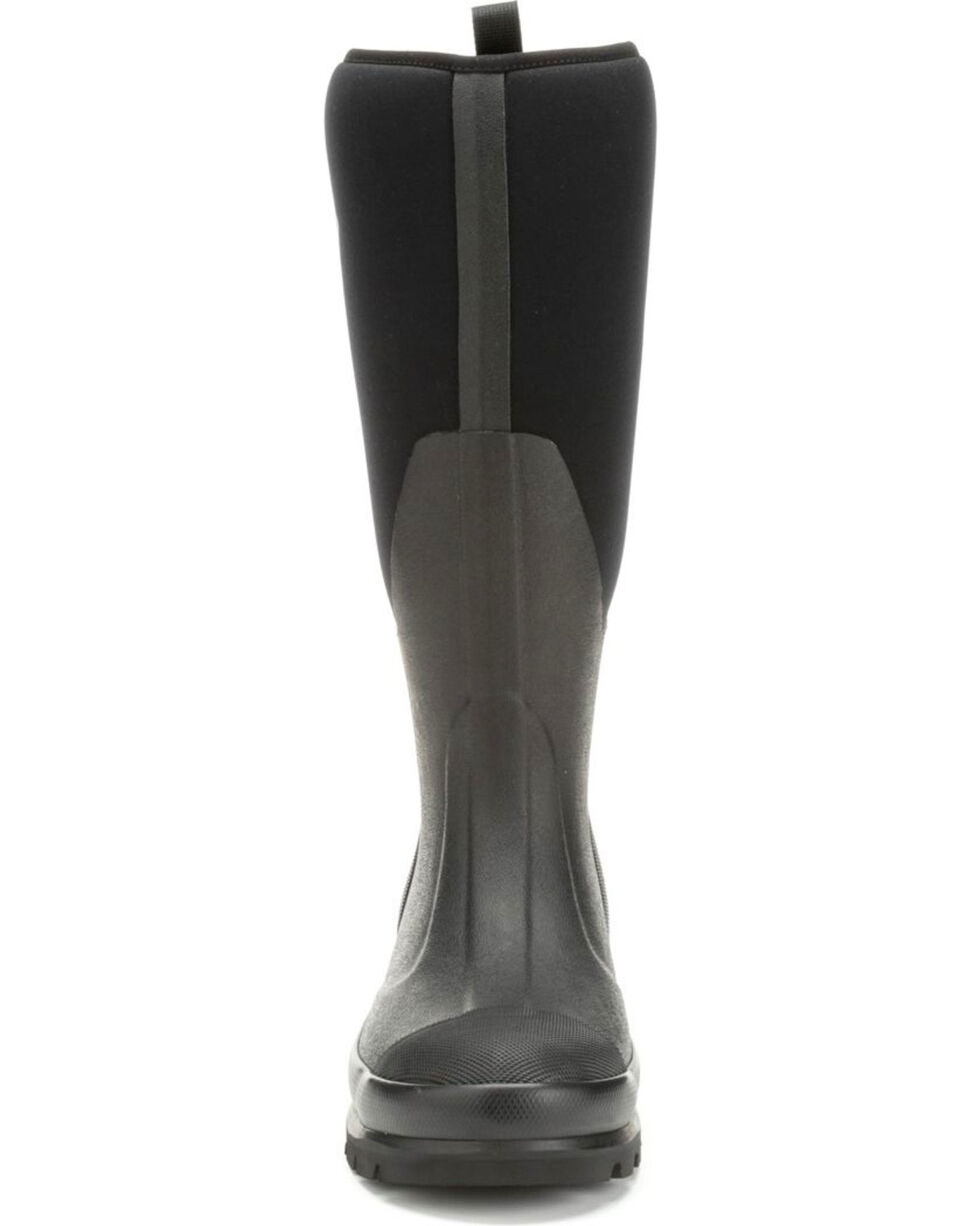 The Original Muck Boot Company Women's Chore Tall Work Boots, Black, hi-res