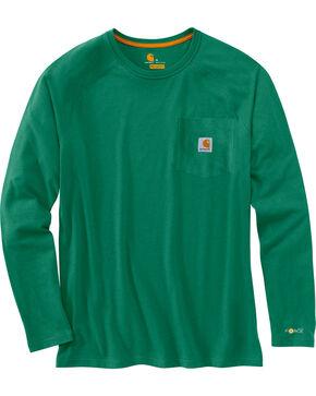 Carhartt Men's Long Sleeve Force T-Shirt, , hi-res