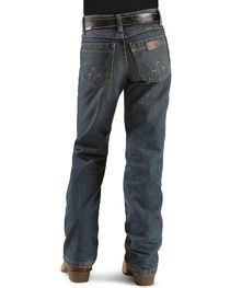Wrangler Boy's Retro Relaxed Fit Boot Cut Jeans, , hi-res