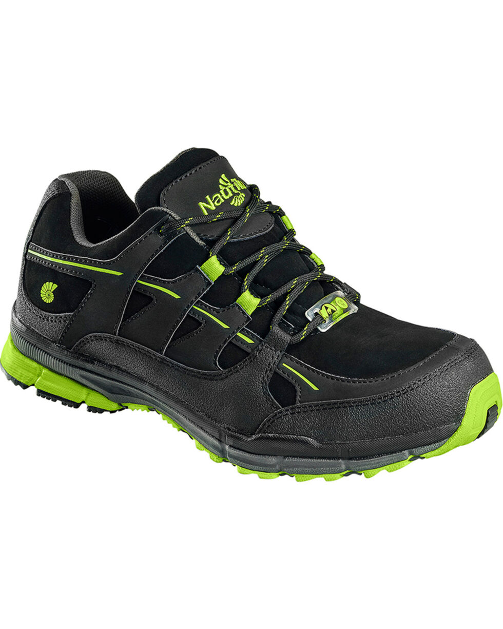 Nautilus Women's Steel Toe ESD Athletic Safety Shoes, Black, hi-res