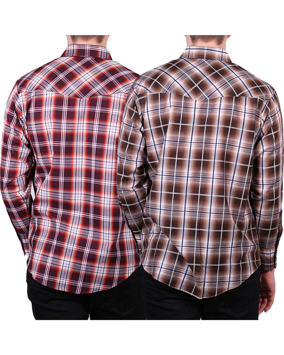 Ely Walker Men's Assorted Plaid Long Sleeve Shirt, Multi, hi-res