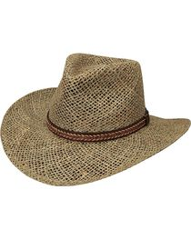 Black Creek Seagrass Straw Hat, Natural, hi-res