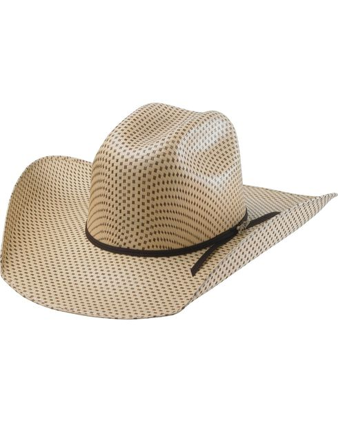 Tony Lama Men's 25X Rio Straw Hat, Two Tone, hi-res