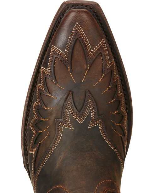 Ariat Women's Andalusia Western Booties, Brown, hi-res