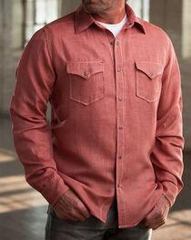 Ryan Michael Men's Cherry Vintage Pick Stitch Houndstooth Shirt, , hi-res