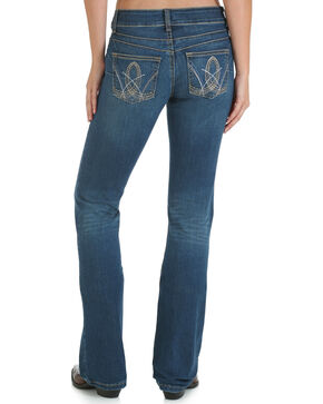 Wrangler Women's Premium Patch Mae Jeans with Booty Up, Denim, hi-res