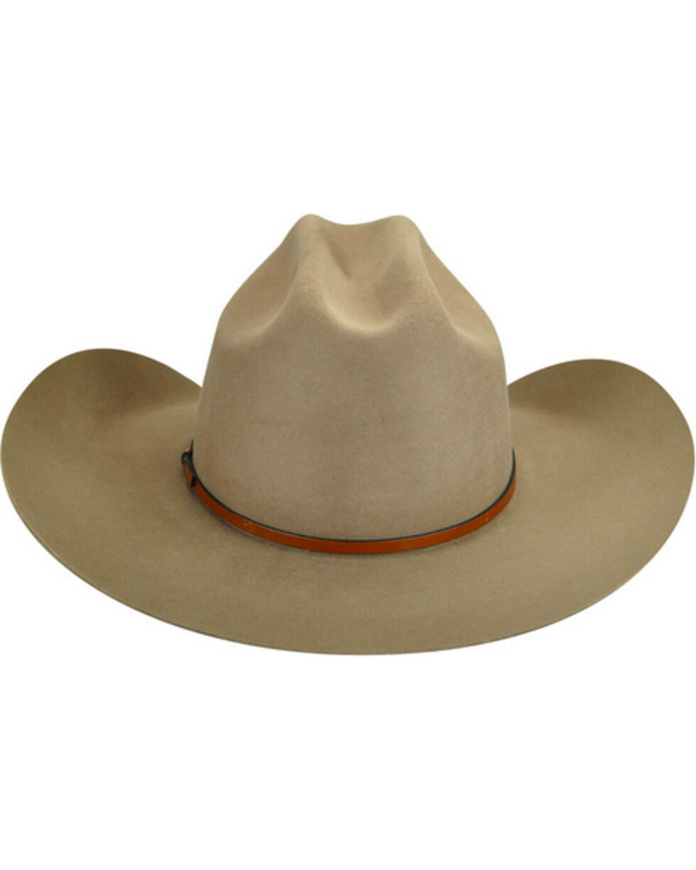 Bailey Men's Jericho 3X Wool Felt Cowboy Hat, Tan, hi-res