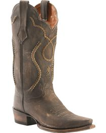 Dan Post Men's Chain Lace Western Boots, , hi-res