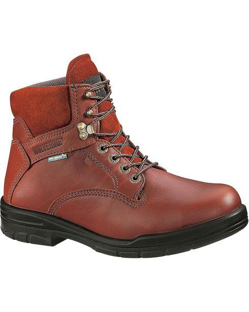 Wolverine Men's DuraShocks® SR Steel Toe EH Work Boots, Brown, hi-res