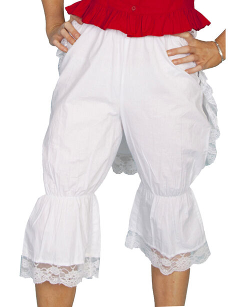 Rangewear by Scully Bloomers with Bustle, White, hi-res