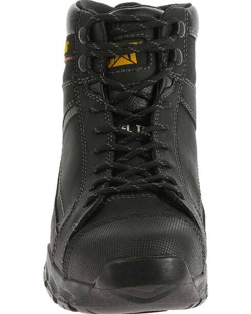 Caterpillar Men's Black Regulator Work Boots - Steel Toe , , hi-res