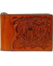 Nocona Men's Pro Series Bi-Fold Money Clip, , hi-res